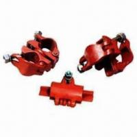 Cheap Cast iron couplers, including right angle coupler, swivel coupler,joint coupler for sale