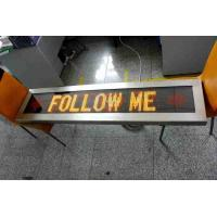 Buy cheap outdoor airport vehicle led message sign board car FOLLOW ME display from wholesalers