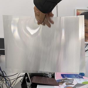Cheap 2021Hot sale 3D lenticular sheet clear PET Lenticular 75 lpi lens sheet 3D flip lenticular lens sheet for sale