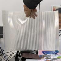 Cheap UV offset printing lenticular material 100LPI pet lenticular lens sheet 3D Lenticular PET/APET Material Sheet for sale
