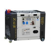 Cheap Single Phase 50HZ 6.5kVA Portable Diesel Power Generator With Electric Start for sale