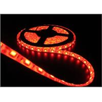 Cheap 60led 5050 led strips light 12V 5m/lot waterproof IP65 house decoration string light Red color for sale