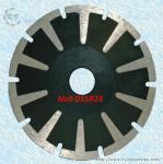 Cheap Continuous Rim Diamond Concave Saw Blades - DSSB24 for sale