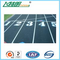 Cheap 13mm Mixed Rubber Athletic Track Recycled Granules Athletic Runway Surface for sale