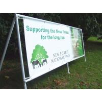 Cheap High Resolution Frontlit PVC Vinyl Banners Outdoor Display / PVC Flex Banner for sale