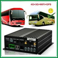 Cheap 4 CH GPS WIFI 3G Mobile DVR for tracking and monitoring for sale