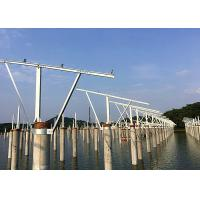 Cheap Precast Pile Fishing Light Complementary Solar Pv Mounting Systems Customized for sale