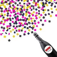 China Boomwow New Design 100% Biodegradable Champagne Bottle Confetti Cannon on sale