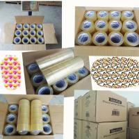 Cheap China manufacturer BOPP material Rolls Heavy Duty Packing bopp packing tape jumbo roll for sale