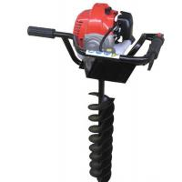 Cheap High power gasoline earth auger with brake / ground drilling machine for sale