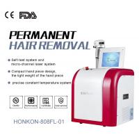 Cheap High Speed 808nm Diode Laser Skin Rejuvenation Machine / Hair Removal Systems for sale