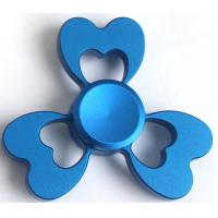 Cheap Aluminum Alloy Triangle Hand Spinner Toy / Tri Spinner Fidget Toy wholesale