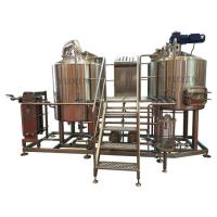 Cheap stainless steel 3000l 5000l industrial beer brewing equipment for sale