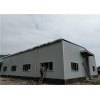 Cheap Color Steel Sheet Wall Panel Light Steel Structure Building With Rolling Door for sale