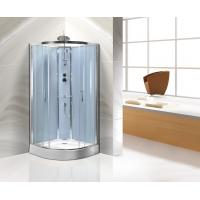 Cheap Sliding Door Corner Shower Stall For Star Rated Hotels / Real Estate Property for sale