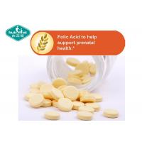 Cheap B9 Vitamin B Supplements Folic Acid 400mcg Tablets For Prenatal Support for sale