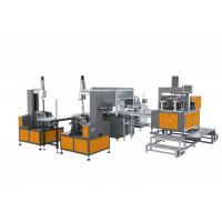 China Shoe Automatic Paper Box Making Machine , Box Making Equipment High Speed on sale