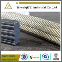 Cheap Competitive elevator wire rope manufacture for sale