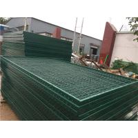 Cheap Corrosion Resistance Mesh Wire Cross Square Pipe Frame Mountain Forest Fence for sale
