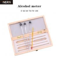 Cheap Measuring Alcohol Concentration Wine Meter , Alcohol Meter Whisky Vodka Bar Set Tool wholesale