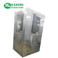 Cheap L Type Door Corner Stainless Steel Air Shower Customize Size Easy To Clean for sale