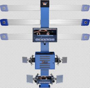 Cheap 3D Car 4 Wheel Alignment Machine , Automatic Precision Wheel Alignment Balancing Machine for sale