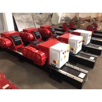 Cheap Bolt Adjustment 20 Ton Conventional Tank Turning Rolls With 2*1.1 KW Double Motor for sale