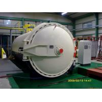 China Steam Brick Industrial Autoclave Pressure Φ3m For Glass Deep - Processing on sale