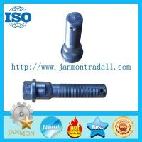 Buy cheap Hex head bolts with holes,Hex bolts with holes on head,High tensile bolts with from wholesalers
