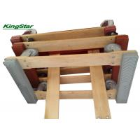 China Rubber Caps Heavy Duty Furniture Dolly Open Frame Construction , 4 TPR Wheels on sale
