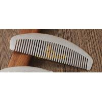 Cheap Unique Male Grooming Supplies Stainless Steel Beard Comb for sale