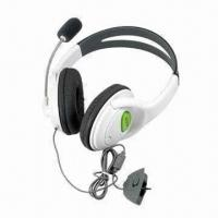 Cheap Sensational Headsets/Earphones for XBOX360 Game Accessories, Lightweight and Comfortable to Use for sale