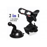 Cheap Black 360 Degree Rotating Clamp Universal Cell Phone Holders For Cars for sale
