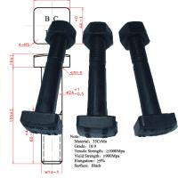 Buy cheap track bolt/fish bolt from wholesalers