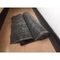 Cheap Black EPDM Rubber Roofing Membrane , Elastomeric Roof Coating Strong Deformation Adaptability for sale