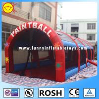 Cheap Funny Inflatable Paint Ball Double Stitching Kids Playing Games for sale