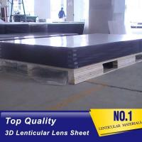 Buy cheap 2021 wholesale 120X240CM, 4MM thick PS material Plastic Lenticular Sheet from wholesalers