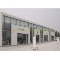 Cheap Modern Steel Frame Structure Prebaricated 4S Car Exhibition Center Hall for sale