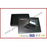 Full Color Printing Laptop Cardboard Box Packaging With Ivory Card Materials