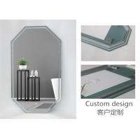 Cheap Multi Functional Touch Screen Light Up Mirror , Anti Fog Touch Vanity Mirror IP20 for sale