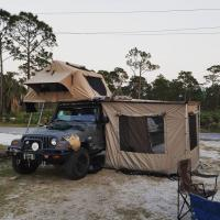 Cheap 3-4 Person Off Road Vehicle Awnings UV50+ Protection 1 Year Warranty for sale