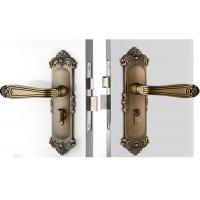 Cheap High Hardness Room Mortise Door Lock Antique Bronze Zinc Alloy Entracne Handle Lock wholesale