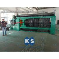 Cheap Double Rack Drive Gabion Machine / Hexagonal Wire Mesh Machine for sale