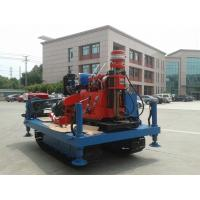 Cheap Spindle Rotary Crawler Drilling Rig Max Torque 2760 N.m , Mobile Drilling Rig for sale