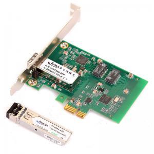 1000Mbps Gigabit Ethernet Desktop Computer Network Adapter 1G PCIex1 Fiber Optic Network Interface Cards