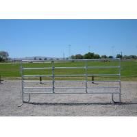 Cheap Eco Friendly Portable Cattle Fence Panels / Heavy Duty Corral Panels for sale