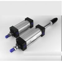 Cheap Automotive Welding Aluminum Air Cylinder / Double Acting Pneumatic Cylinder for sale