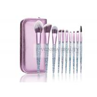 Cheap Gorgeous Shiny Essential Makeup Brushes Bright Facial Tools Custom Design for sale
