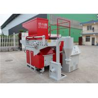 Cheap Full Automatic Industrial Sized Shredder , Large Scale Garbage Shredder Machine for sale