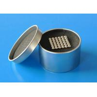 Buy cheap 7.6 g/ cm3 Sintered Ndfeb Magnet , Neodymium Magnetic Ball from Wholesalers